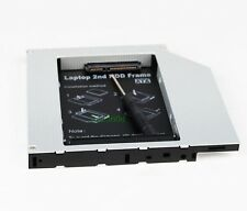 2nd SATA Hard Drive HD SSD Caddy Adapter for HP Compaq 8510p 8510w