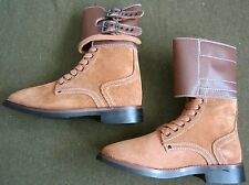 "WWII US COMBAT ""DOUBLE BUCKLE"" SERVICE COMBAT BOOTS-SIZE 10"