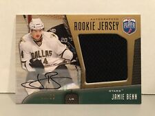 JAMIE BENN BE A PLAYER 2009-10 AUTOGRAPHED ROOKIE JERSEY 21/50 DALLAS STARS RARE