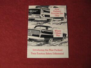 1956 Packard Sales Brochure Booklet Catalog Book Old