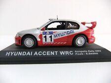 IXO Altaya 1:43 Scale Diecast Hyundai Accent WRC Acropolis Rally 2003 F.Loix
