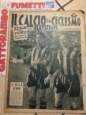 Il Calcio e Ciclismo Illustrato N.37 Anno 1952 Il Bello Verrà'