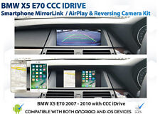 BMW E70 X5 CCC iDrive : Android / iPhone Mirroring & Reverse cam retrofit pack