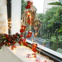 Flash Led Light String Christmas Lights Socks String Lights Decor Hanging Lights