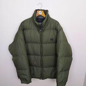 HELLY HANSEN Down Puffer Jacket - 2XL - XXL - Green