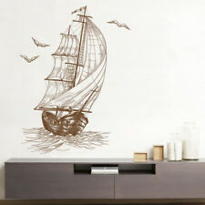 Ocean Ship Wall Sticker 3D Decals Mural Art Wallpaper Decor Home Living Room