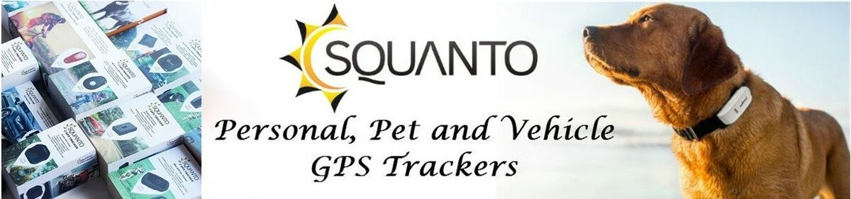 Squanto GPS Pet & Personal Trackers