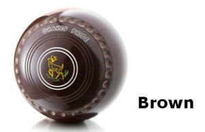 DRAKES PRIDE PROFESSIONAL BROWN BOWLS AVAILABLE IN VARIOUS WEIGHTS