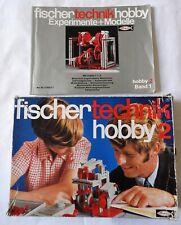 Fischertechnik Hobby 2  Grundkasten - unvollständig + Hobby 2 Band 1 (A)