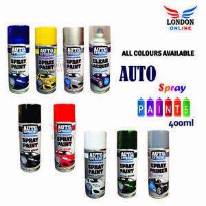 Auto Extreme Aerosol Spray Paint Satin Gloss Matt Primer Galvanised 400ml