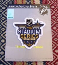 Official NHL 2018 Stadium Series Patch Washington Capitals Toronto Maple Leafs