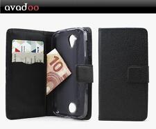 avadoo® Acer Liquid M330 Flip Case Schutz Hülle Tasche Magnet Schwarz
