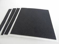 "Lot of 4 sheets of 40 Strips/Pads Neoprene Grip Foam 3/16"" x 8"" x 1/16"" Thick"