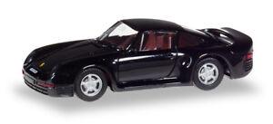 """Herpa 028684 Porsche 959 """"Herpa-H-Edition"""" 1:87 modellismo"""