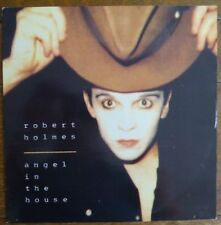 "ROBERT HOLMES - ANGEL IN THE HOUSE 1989 12"" VINYL SINGLE. VST1142"