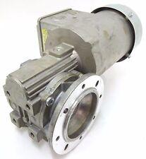 BAUER BS03 Getriebemotor Schneckengetriebe Motor 72U/min 0,25kW 3~ IM H1 BJ 2009