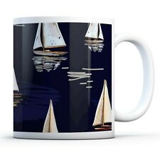 Cool Sailing Ships - Drinks Mug Cup Kitchen Birthday Office Fun Gift #12324