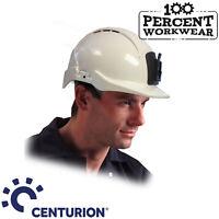 Centurion Concept Miner Safety Work Helmet ABS Hard Hat Lamp Attachment Mining
