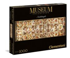 Sistine Chapel Ceiling Puzzle 1000 Piece Panoramic Fine Art Jigsaw by Clementoni