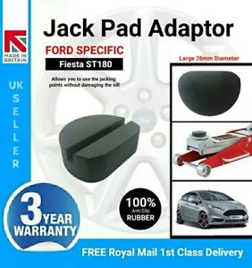 Anti-slip Rubber Jack Pad Adaptor for Ford Fiesta ST180 Jacking Points