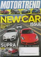 Motor Trend October 2019 New Car Issue (Magazine: Automotive, Cars)