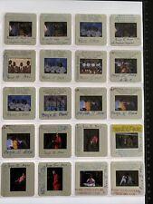 BOYZ II MEN CELEBRITY MUSIC 1990s 35MM TRANSPARENCY LOT OF 20 SLIDES