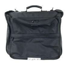 Tumi Garment Hanging Bag Black Ballistic Nylon Suitcase Luggage Tag Lock Travel