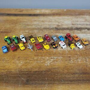 Vintage Lot of 21 Funrise  *MINI VEHICLES* (Micro Machine Clones) Very Cool!