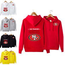 San Francisco 49ers Sports Hoodie Pullover Casual Sweatshirt Jacket Fan's Gift