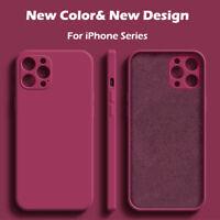 Etui Coque Pour iPhone 11 12 Pro Max Mini XR XS X 8 7 Plus SE Antichoc Silicone