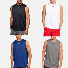 Under Armour Men's UA Tech Locker Sleeveless Cutoff T-Shirt Athletic Tee 1312277