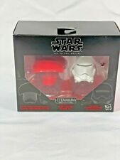 Star Wars Black Series Titanium Helmets #09 Elite Praetorian Guard Flametrooper