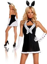 Black Tie Bunny Costume, 8-18, Elegant Moments, Easter, Sexy Playboy Fancy Dress