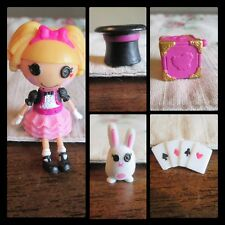 Lalaloopsy Mini Misty Mysterious Gold Puzzle Box Rabbit Top Hat Cards series 2