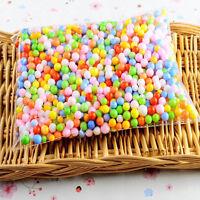 Hot Mini Assorted Colors Polystyrene Styrofoam Filler Foam Beads Balls Crafts