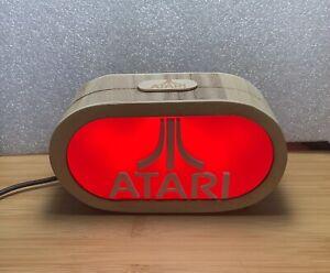 ATARI Gamertag Light USB Desk Gaming Room Hand Made