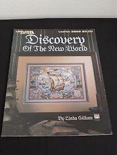 Leisure Arts Cross Stitch Pattern Discovery of the New World Columbus Ships Maps