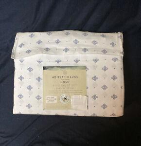 Artisan De Luxe Home King Sheet 4 Pc Set 100% Cotton OEKO-TEX NIP