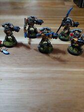 Warhammer 40k Well Painted Grey Knights Squad (oop metal)