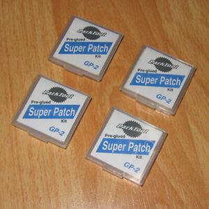 Bulk Buy! Park Tool GP-2 Pre-Glued Super Patch Kits (contain 24x repair patches)