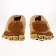 Unisex Novelty Monster Slippers Funny Funky Gift Idea Warm Hobbit Big Feet