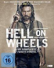 HELL ON WHEELS - DIE KOMPLETTE 2.STAFFEL - 3 DVD NEU