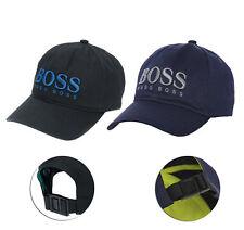 Hugo Boss Para Hombre Fero 2 Gorra de béisbol con logotipo bordado en la Correa Hebilla De Empuje BACK HAT
