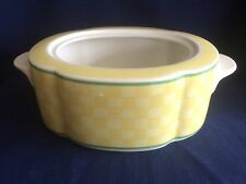 Villeroy & Boch/Gallo Switch Summerhouse oval lidded veg bowl (base only)