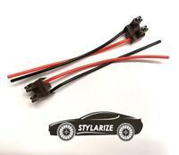 STYLARIZE® 2x H7 Bulb Socket Power Car Adapter Plug Connector Wiring
