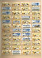 BRD  ATM Automaten Lot Briefmarken Deutschland Stamps Sellos Timbres Konvolut
