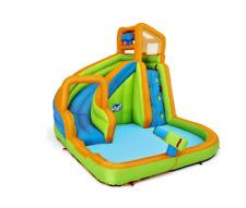 "H2OGO! 12' x 10'6"" x 8'10"" Turbo Splash Zone Mega Water Park Kids Fun Outdoor"