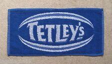 Tetley's Bitter Beer Blue Rugby Bar Towel Pub Home Bar Man Cave New Unused