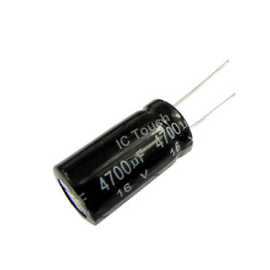 4700uf 16V CAPACITOR RADIAL ELECTROLYTIC capacitor ''UK COMPANY''