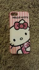 Pink rhinestone hello kitty iPhone 5 case